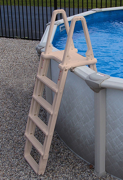 Above Ground Ladders and Steps | Thompson Swimming Pool Supply, Inc.
